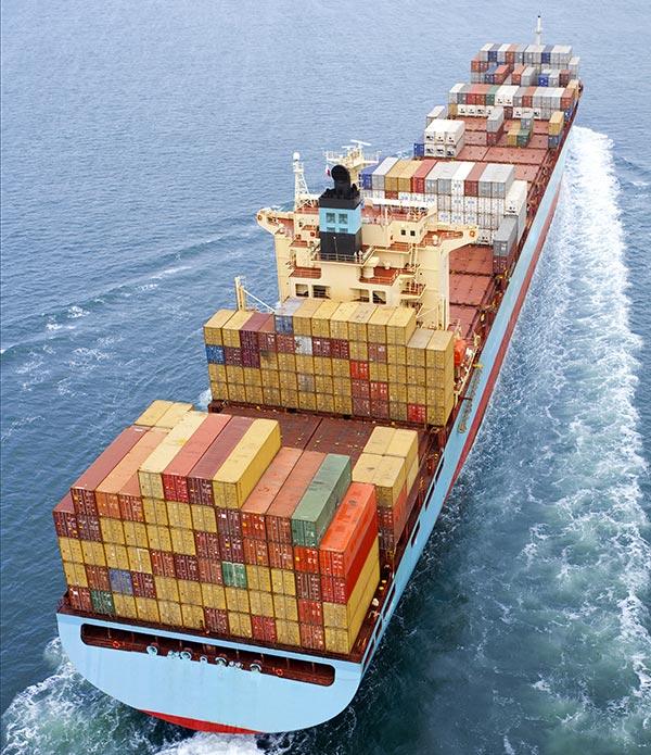 Fret maritime mars logistique