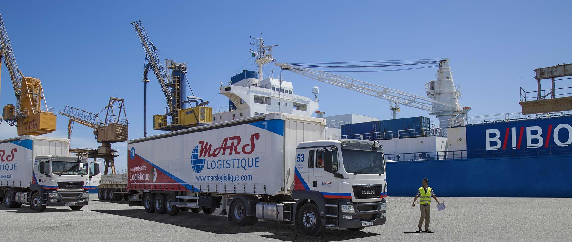 Cargo BIBO Mars Logistique