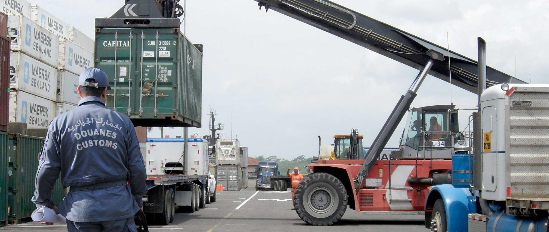 douanes algerie logistique
